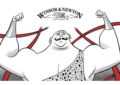 STRONG! – WINSOR & NEWTON 2012